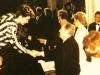 Starmania devant Lady Di, le Prince Charles, Michel Berger et bien entendu Monsieur le Président François Mitterand