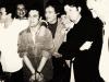 avec Bruno Solo, Pierre Palmade, Ticky Holgado (R.I.P.) et Claude Brasseur