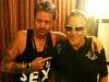 Avec Gilbert Montagné