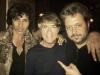 Avec Jean-Luc Lahaye et Gregoire Colard