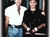 Avec Gino Vannelli